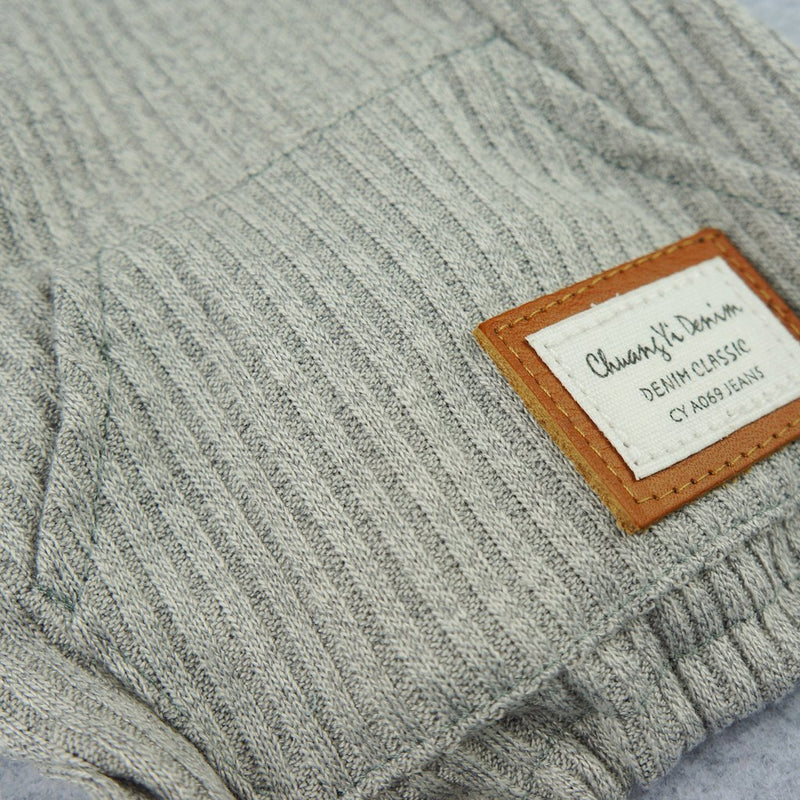 Grey Knitted Pajamas