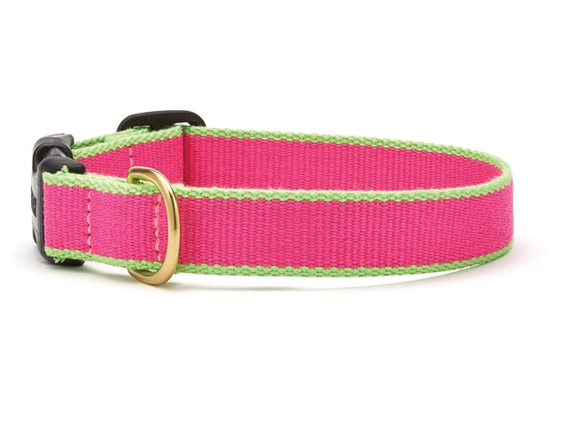 Pink and Lime Bamboo Leash