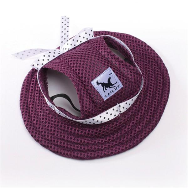 Purple Dog Bonnet