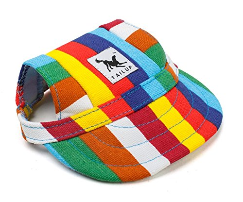 Stripe Dog Baseball Cap