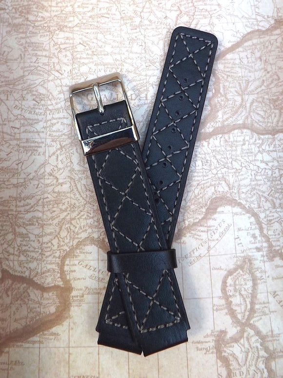 Black Calf Leather (18mm)