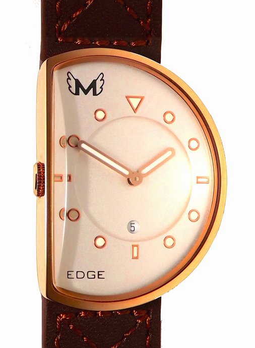 Lefty 14k Rose Gold Brown 38mm