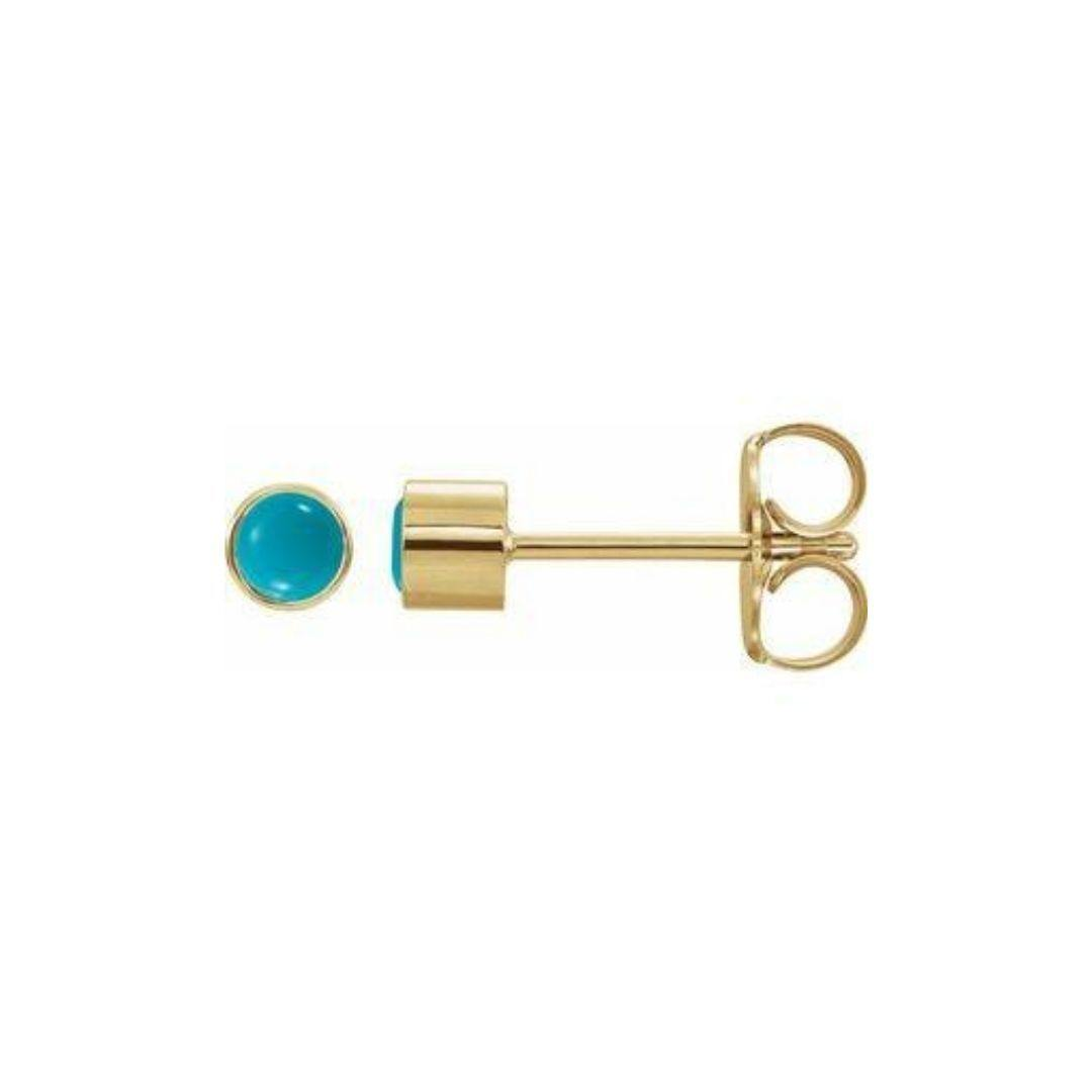 Turquoise Stud Earrings - Elisha Marie Jewelry