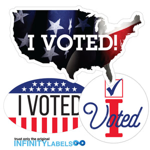 Did You Vote?  Say It With Infinity Labels