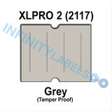 180,000 XLPro 2117 compatible Gray Labels. Full case.