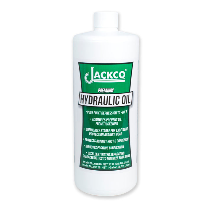 01032 - Hydraulic Oil-1 qt (32 fl.oz.) 12 Bottle Case