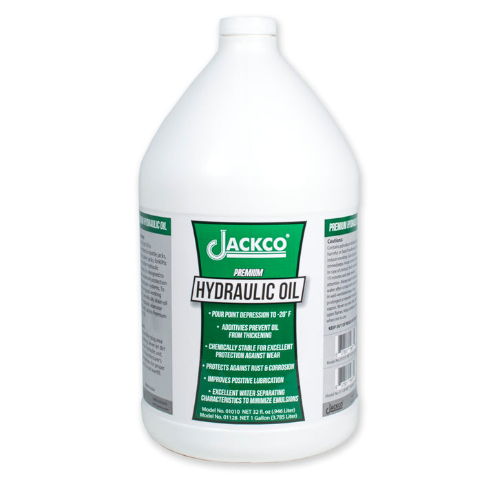 01128 - Hydraulic Oil-1 Gal (128 fl.oz.)