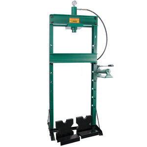 20 Ton Shop Press with Ram and 2 Speed Pump