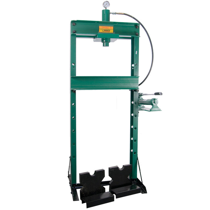 520B - 20 Ton Shop Press with Ram and 2 Speed Pump