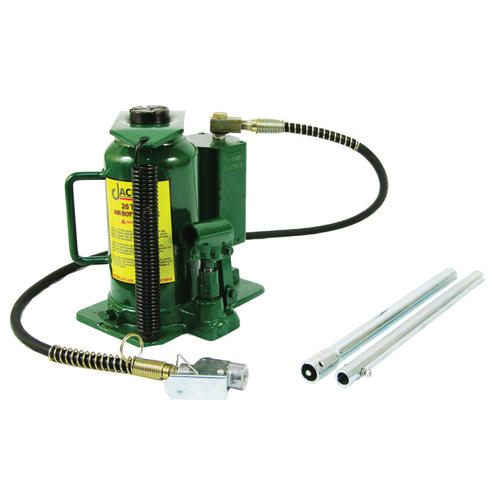 69120B - 20 Ton Air/Manual Bottle Jack