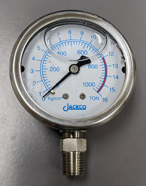 830PG - SHOP PRESS PRESSURE GAUGE