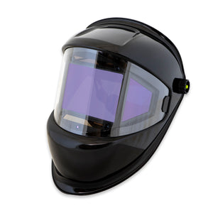 WH180AD-BK - Digital Panoramic 180 View Solar Powered Auto Darkening Welding Helmet - True Color (Black)