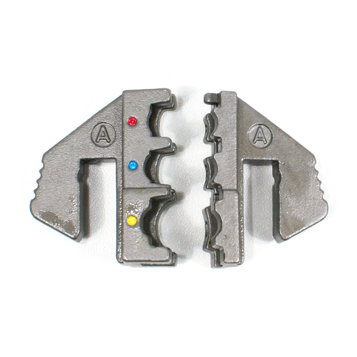 HT-2110-A Crimping Tool Die - A Die for Insulated Terminals AWG 22-18/16-14/12-10