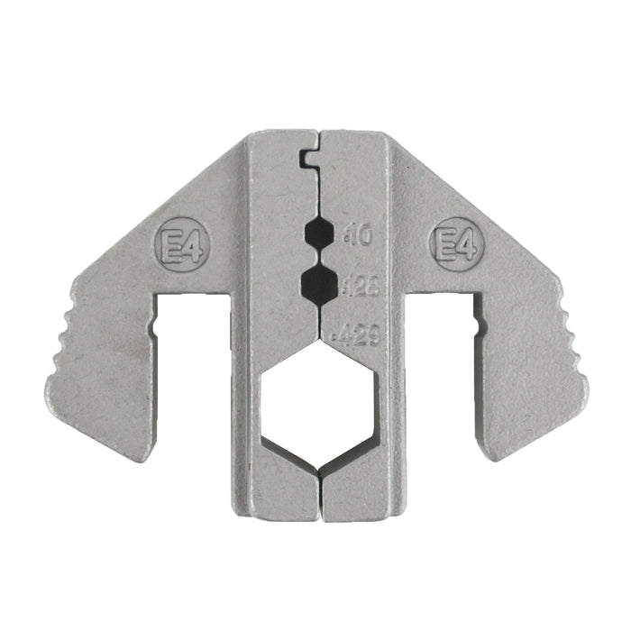 HT-2130-E4 Crimping Tool Die - E4 Die for RG Type Coaxial Cable Connector .100/.128/.429""
