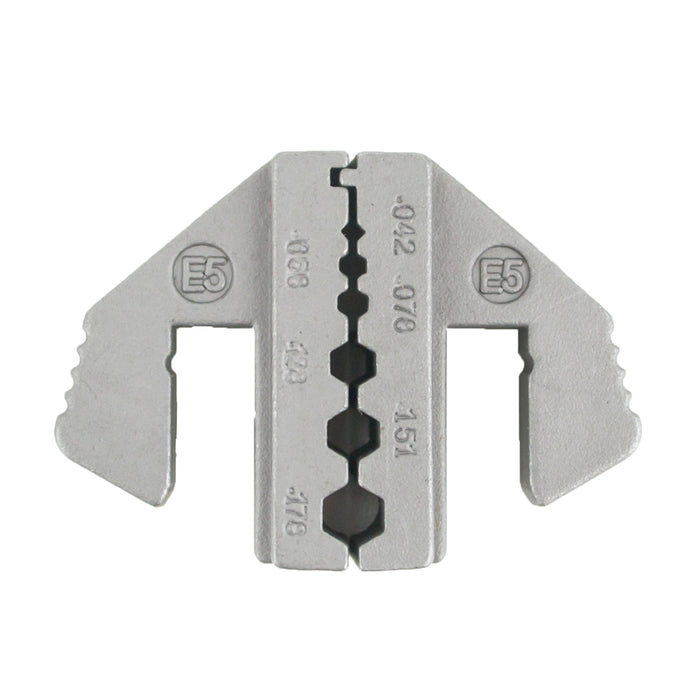 HT-2130-E5 Crimping Tool Die - E5 Die for RG Type Coaxial .042/.068/.078/.128/.151/.178""