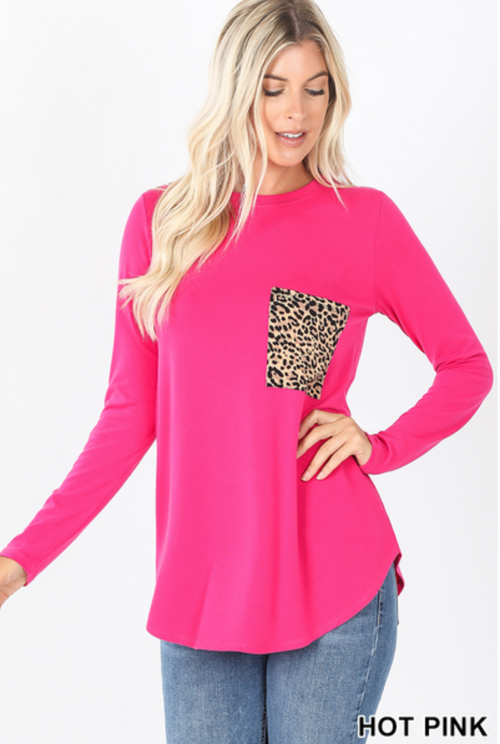 Misses AND Curvy: Fall for Cheetah Top