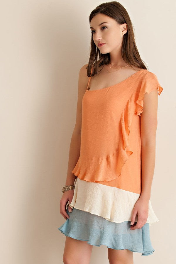 QUTE Creamsicle Dress