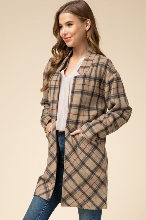 Mad for Plaid Jacket
