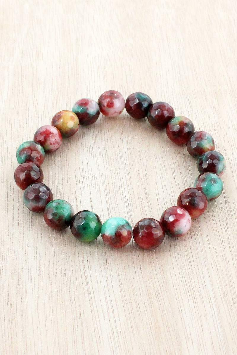 green, red, amber, bracelet, www.tooquteboutique.com, too qute boutique, ladies accessories, jewelry