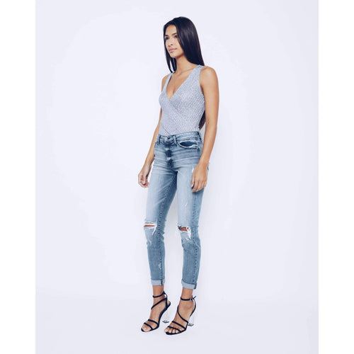 KanCan Girlfriend Distressed Jeans