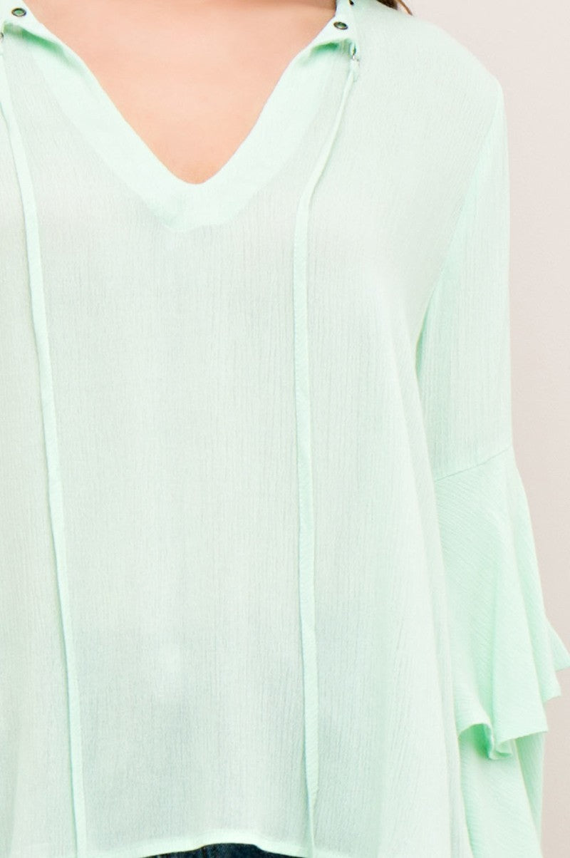Marvelous Minty Top