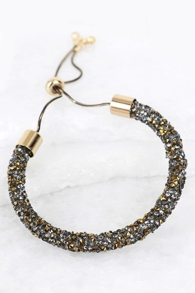 Glitter Stone Adjustable Bracelet