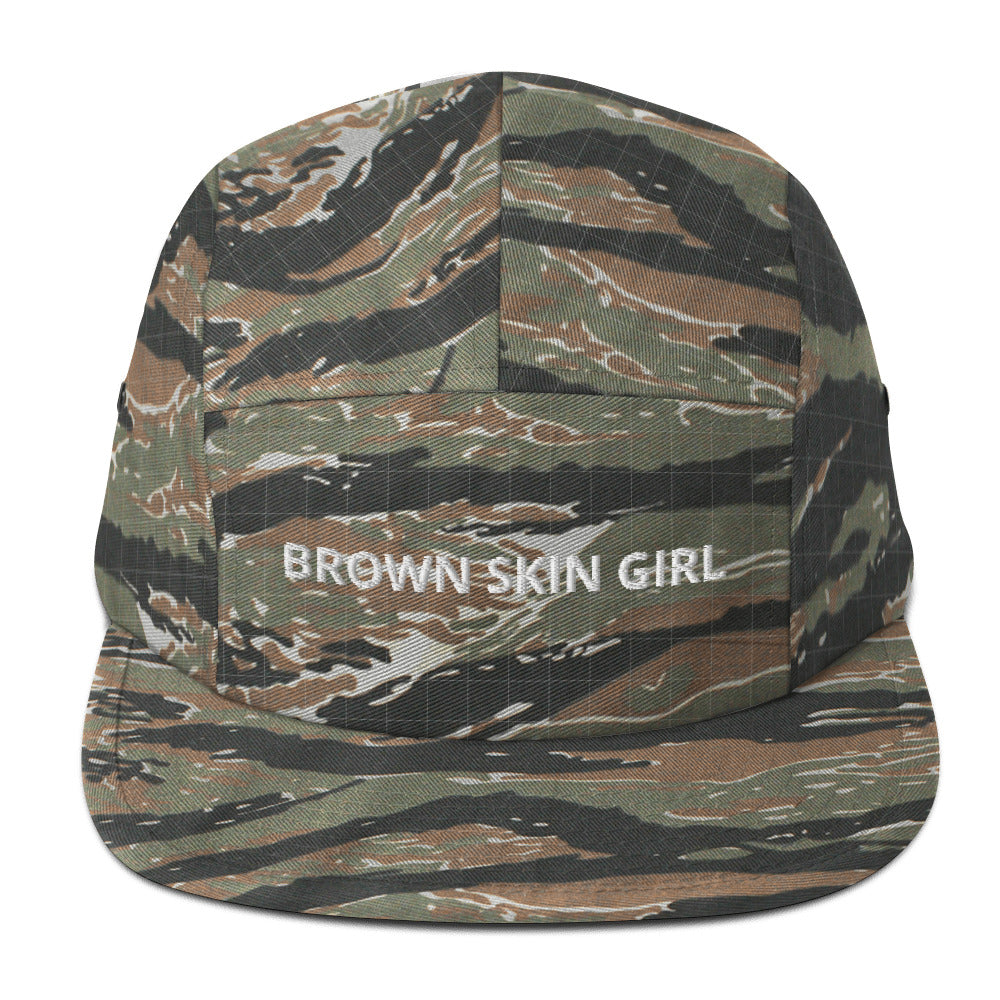 Brown Skin Girl - Five Panel Cap