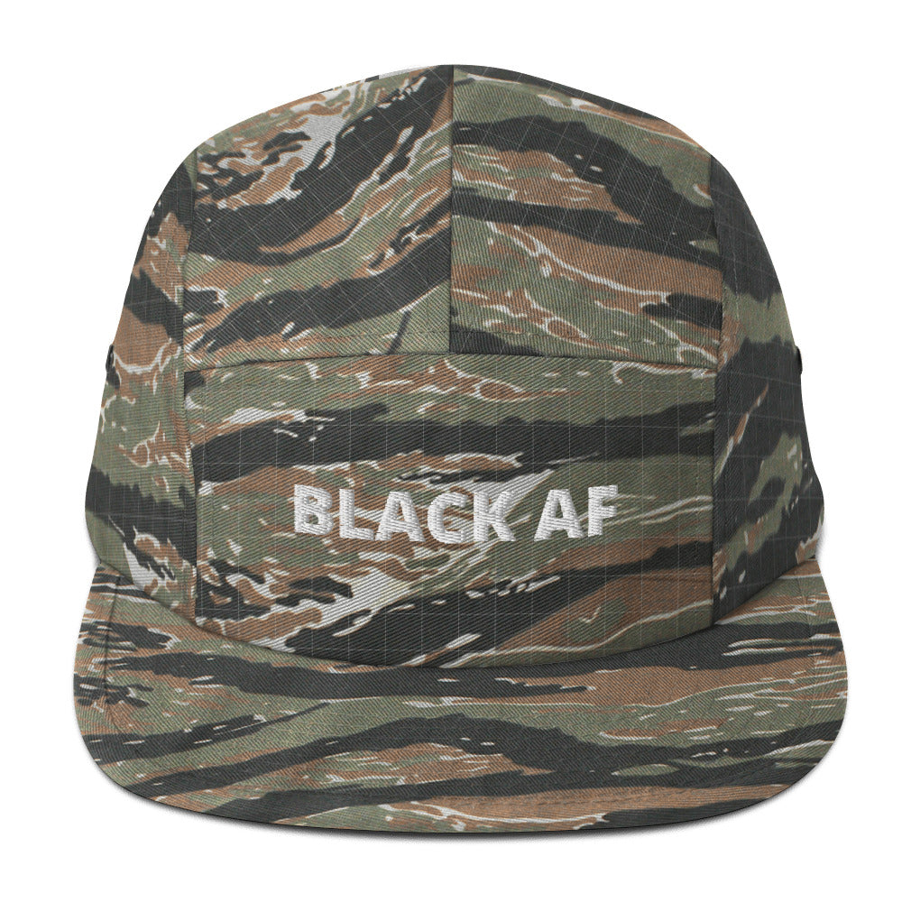 Black AF - Five Panel Cap
