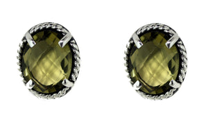 Olive Post Earrings