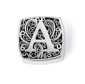 """A is for Alluring"" slide charm"
