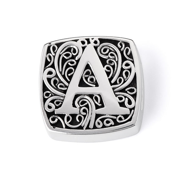 """A is for Alluring"" slide charm  from Bonn Bons by Lori Bonn (29920XA)"