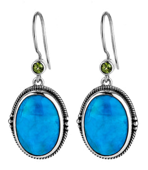 moxie oval drop earring from Lori Bonn Collections by Lori Bonn (112300CT)
