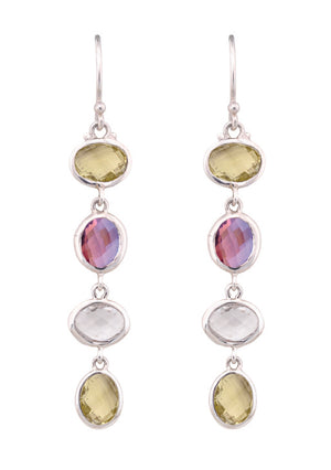 Linear Brio Drop Earrings