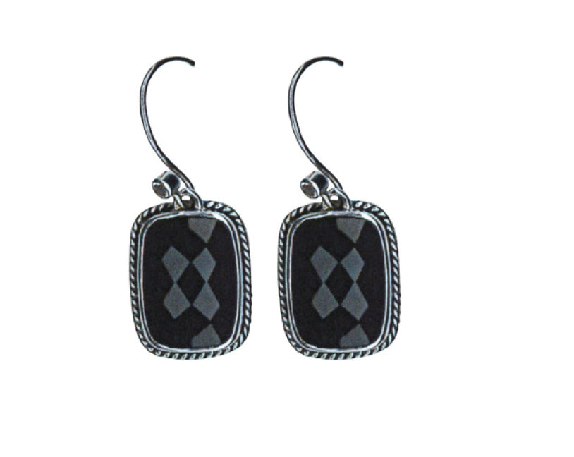 Greta Cushion Drop Earrings