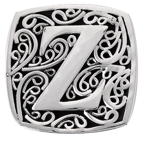 """Z is for Zealous"" slide charm"