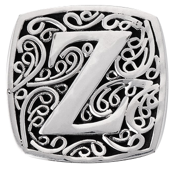 """Z is for Zealous"" slide charm   from Bonn Bons by Lori Bonn (29920XZ)"