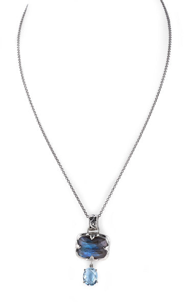 mojo double drop pendant from Lori Bonn Collections by Lori Bonn (511511LBM)