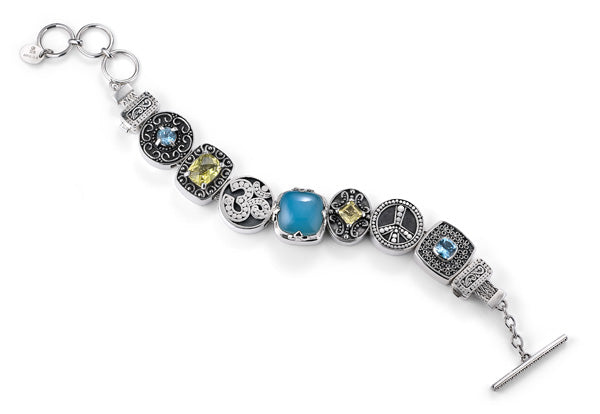 """The Free Spirit"" charm bracelet from Get the Look by Lori Bonn (410105)"