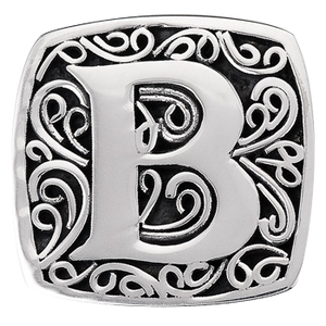 """B is for Bold"" slide charm  from Bonn Bons by Lori Bonn (29920XB)"