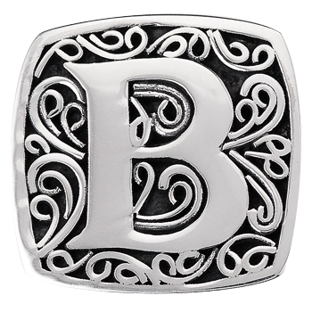 """B is for Bold"" slide charm"