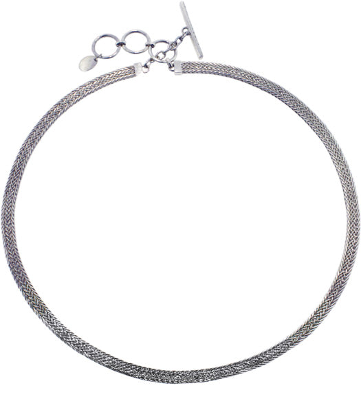 "Woven Omega Necklace (16""-17"") from Bonn Bons Starter Accessories by Lori Bonn (961216)"