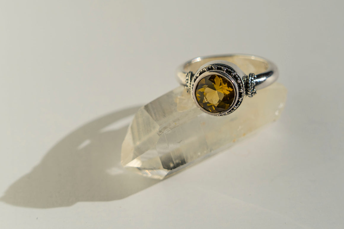 Casbah Citrine Ring