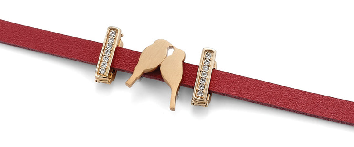 "The ""Match Made in Heaven"" charm bracelet from Get the Look by Lori Bonn (413950)"