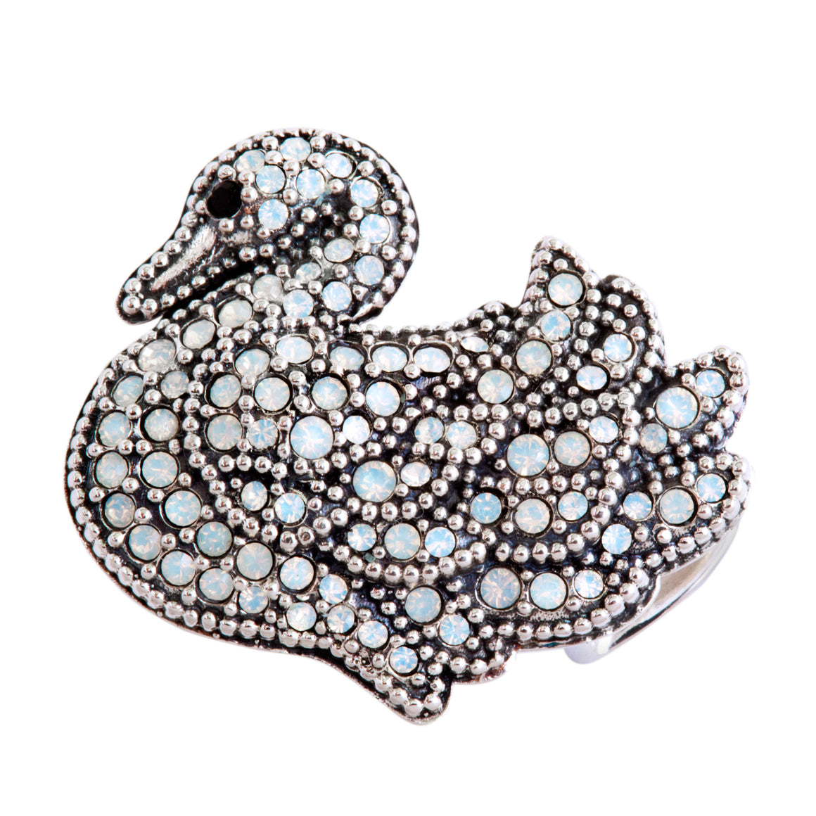 Swan Song Slide Charm from Bonn Bons by Lori Bonn (214302SWWO)