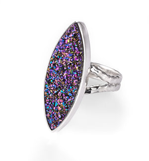 pizzazz cocktail ring from Lori Bonn Collections by Lori Bonn (311505DRB)
