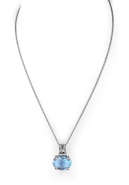 mojo oval drop pendant from Lori Bonn Collections by Lori Bonn (511513SBTM)