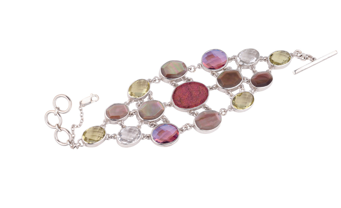 Bloom Multi-Stone Bracelet