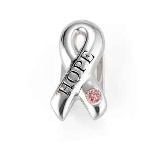 """Be Cause We Need a Cure"" slide charm from Bonn Bons by Lori Bonn (212191ZPT)"
