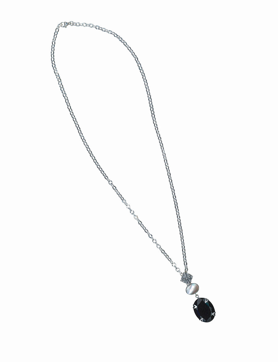 Lauren Double Drop Pendant Necklace