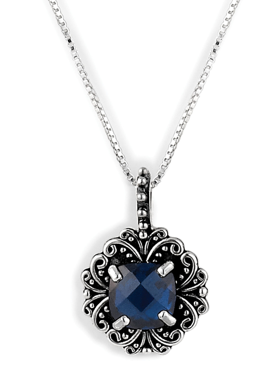 "September ""Labor of Love"" Birthstone Necklace from Bonn Bons Birthstone Necklaces by Lori Bonn (512909BSP)"